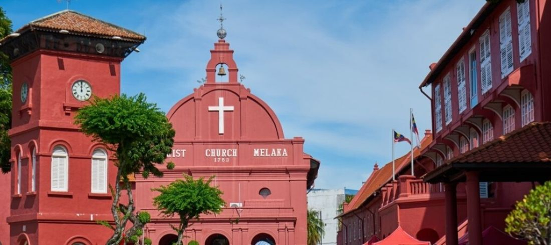 Dutch Square, Malacca - voyage Malaisie