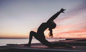 Séance de yoga - voyage Asie