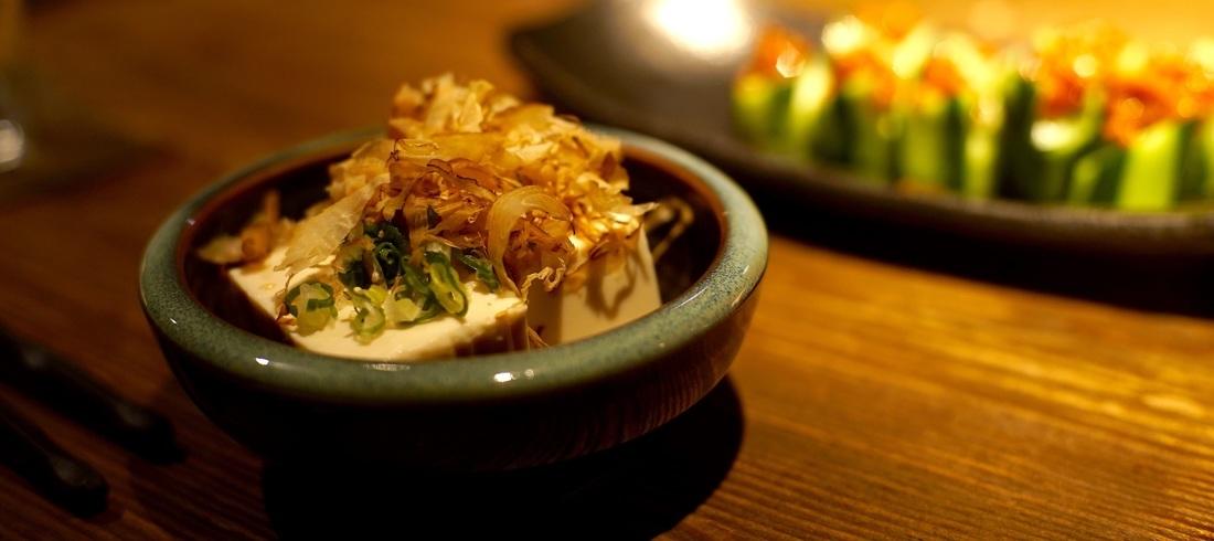 Cuisine traditionnelle au Tofu - voyage Japon