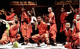 Spectacle Kung-Fu armes hommes