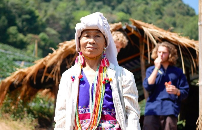 Tribu Karen nord thailande trek
