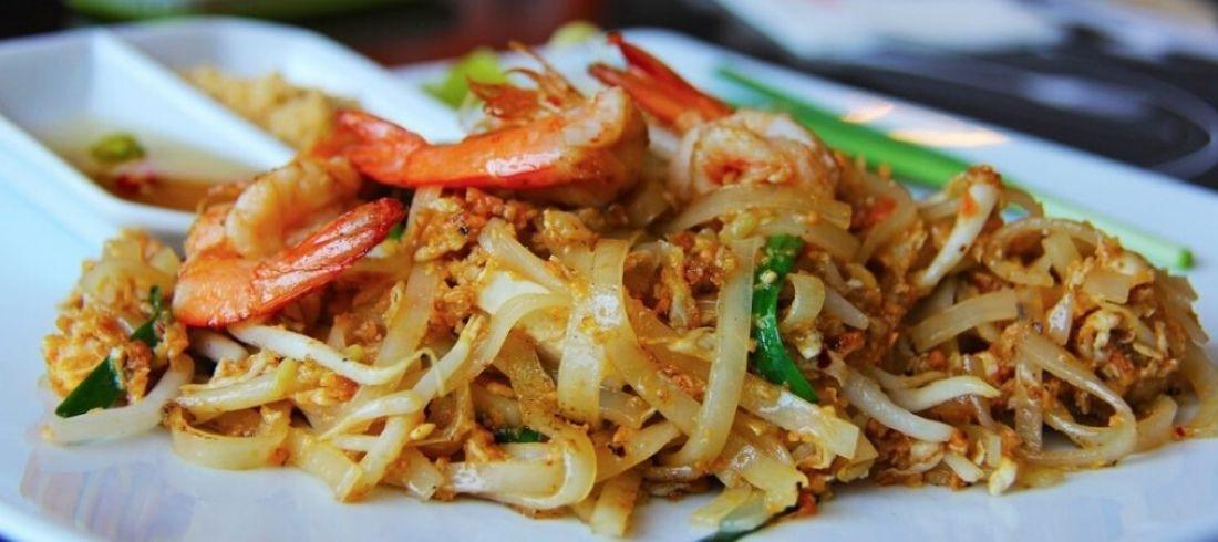 Pad Thai cours cuisine crevettes Plat traditionnel