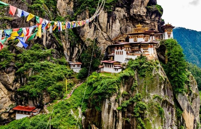Monastère Taktshang Paro Bhoutan