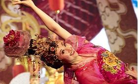 Danses et Chants Tang à Xian - voyage Chine