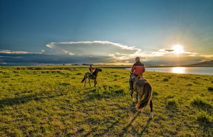 A travers les steppes mongoles - voyage Asie