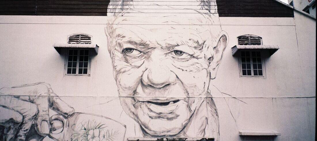 Street Art à Ipoh - voyage Malaisie