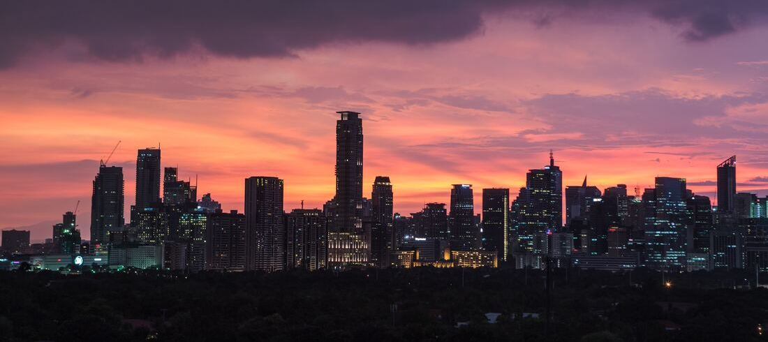 Manille night nuit Philippines