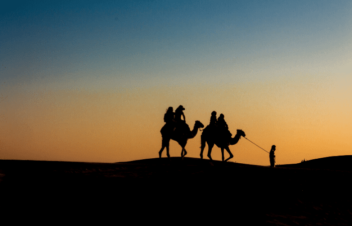 Desert safari Oman Emirats Dubaï