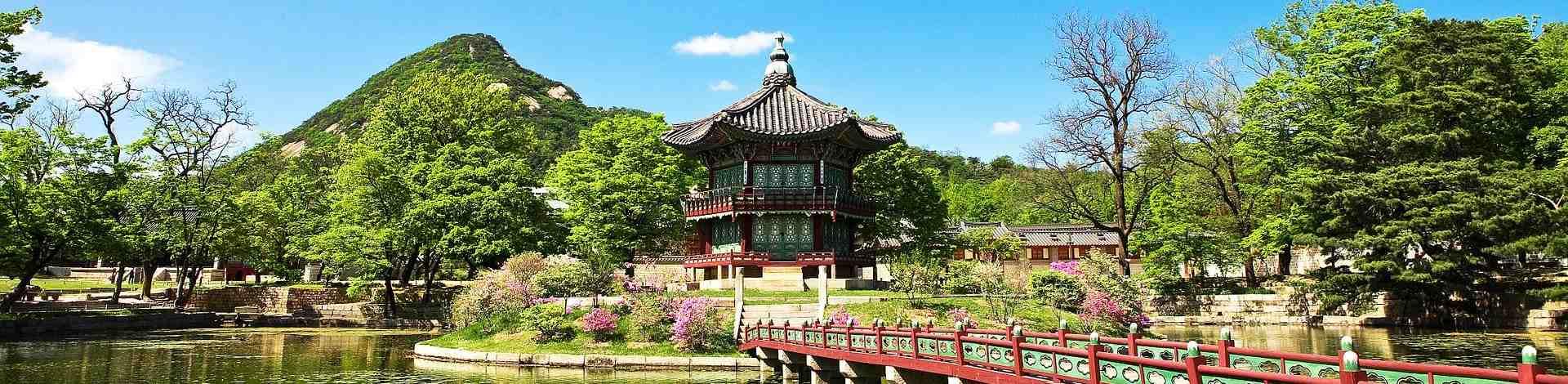 Jardin temple Corée Sud