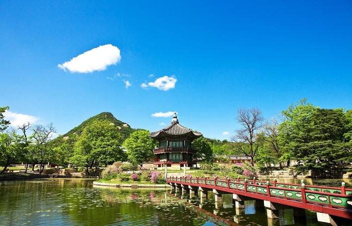 Jardin Corée Sud