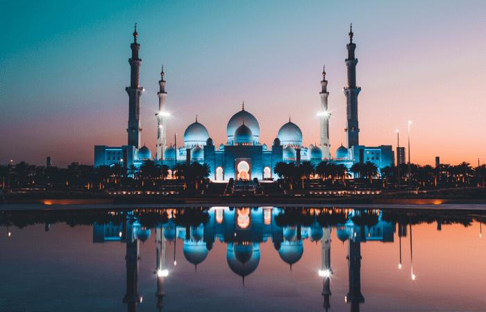 Mosquée Abu Dhabi Sheikh Zayed