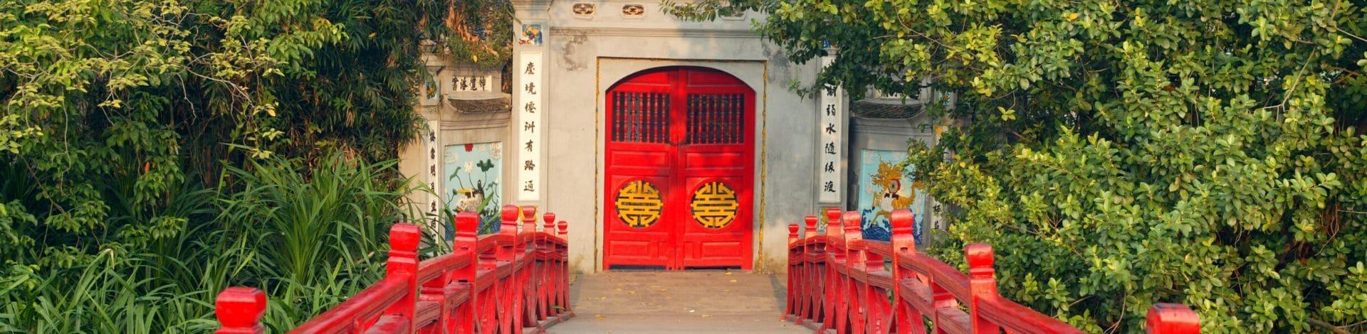 Temple Ngoc Son Hanoi lac épée restituée