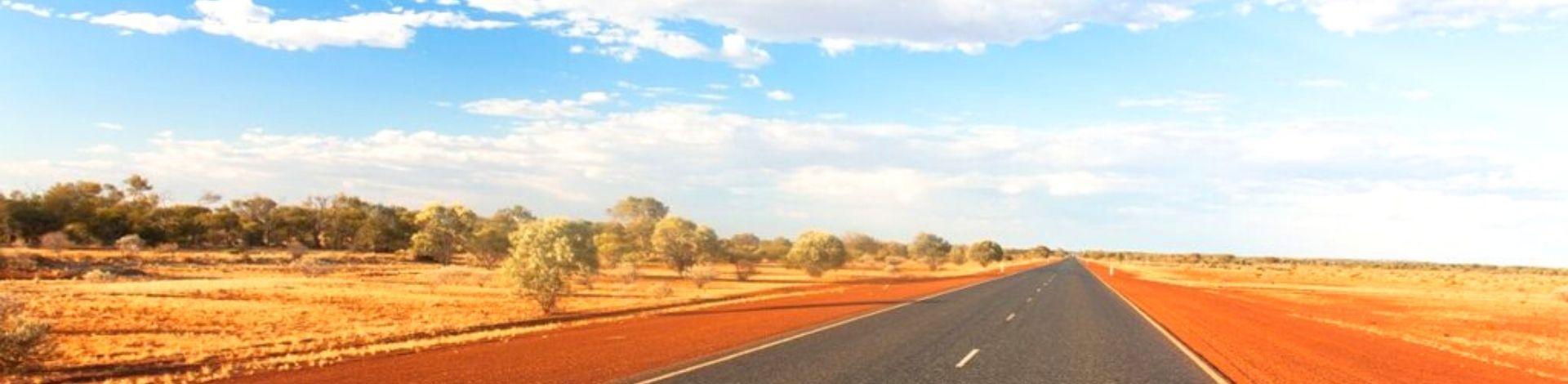 Grands espaces route paysage grandiose