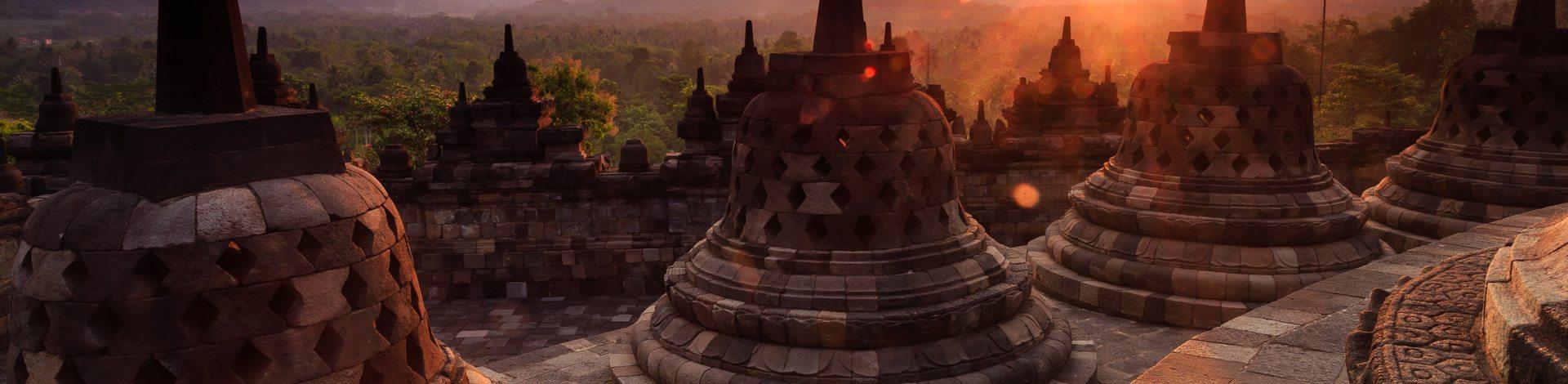 Java Borobudur Unesco temple bouddhiste