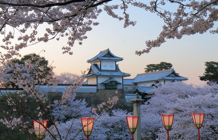Chateau neige Japon Asie Online