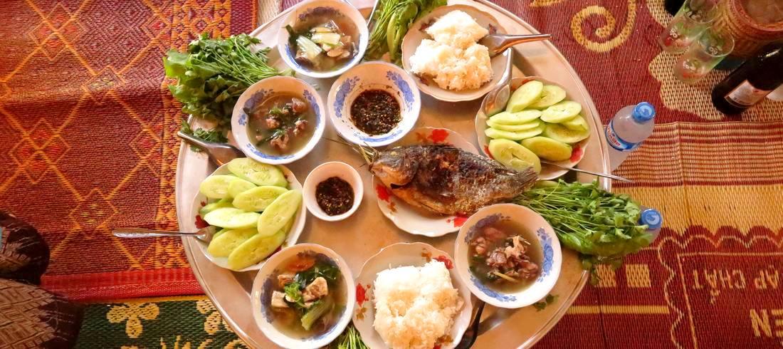 Plats traditionnels Laos cours cuisine