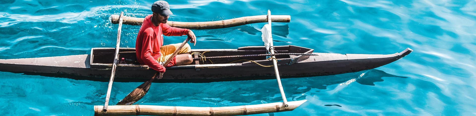 Barque pirogue Cebu Visayas Bohol