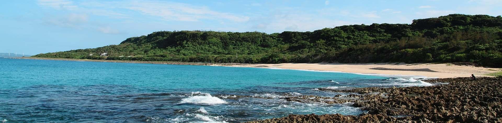Taïwan Pacifique mer plage Kenting