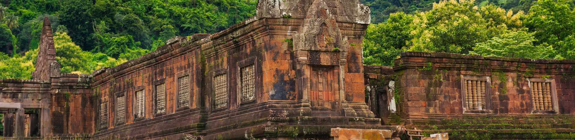 Temple Wat Phu Laos Champassak