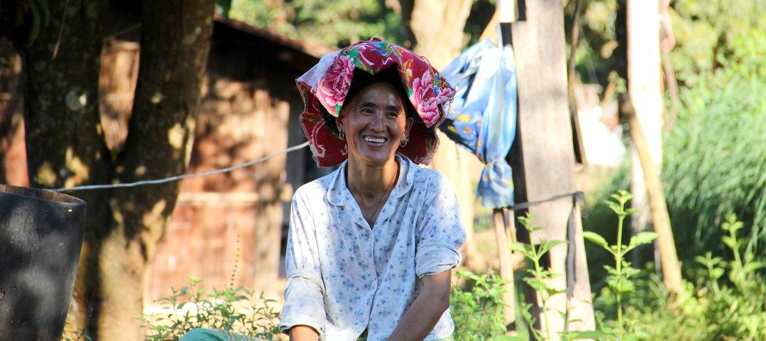 Femme laotienne - voyage Laos