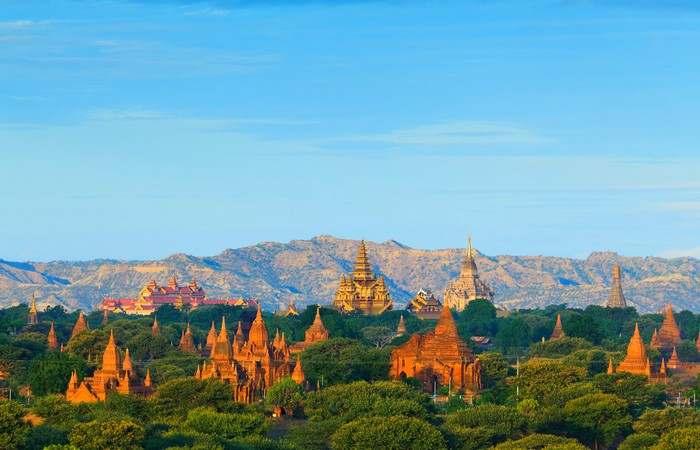 Bagan temples Unesco