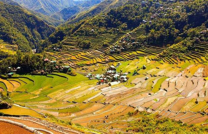 Rizières Banaue Batad Luzon Unesco