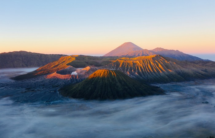 Bromo volcan Java