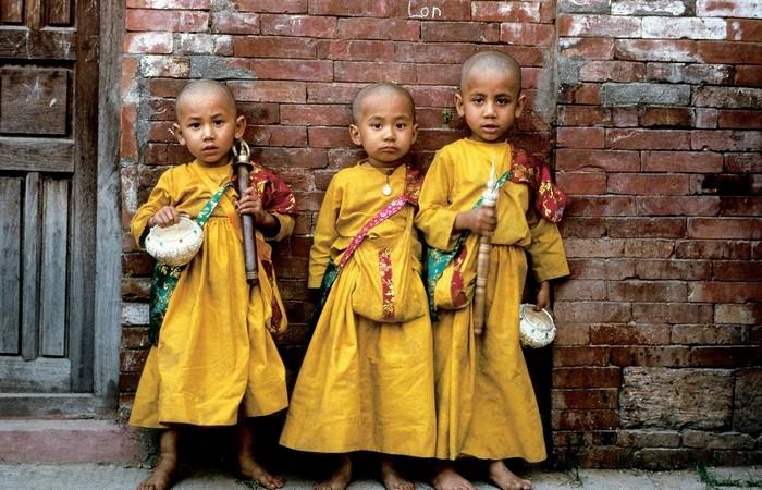 Enfants moines Népal