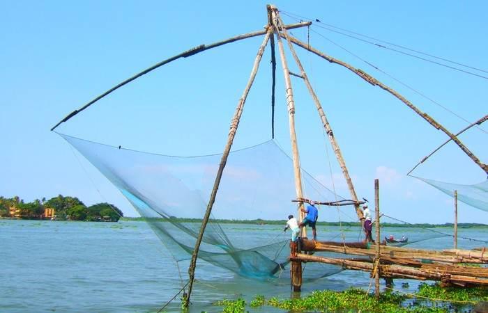 Filets pêche chinois Cochin