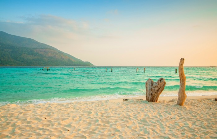 Île Koh Yao Noi plage eau turquoise