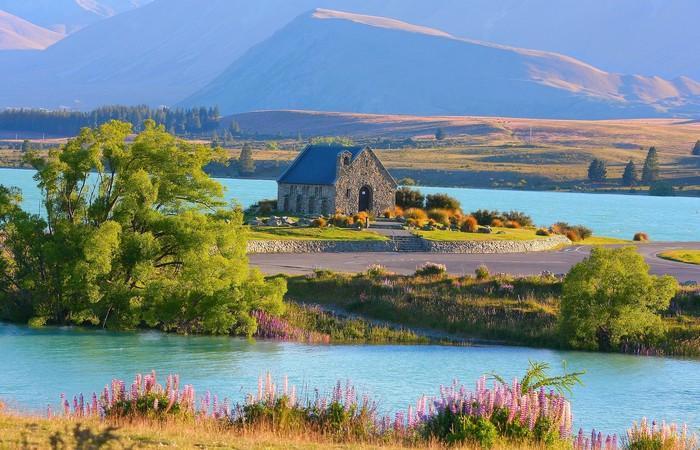 Lac Tekapo Nouvelle Zélande Christchurch