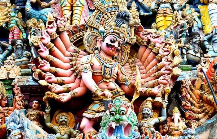 Temple hindouisme Madurai