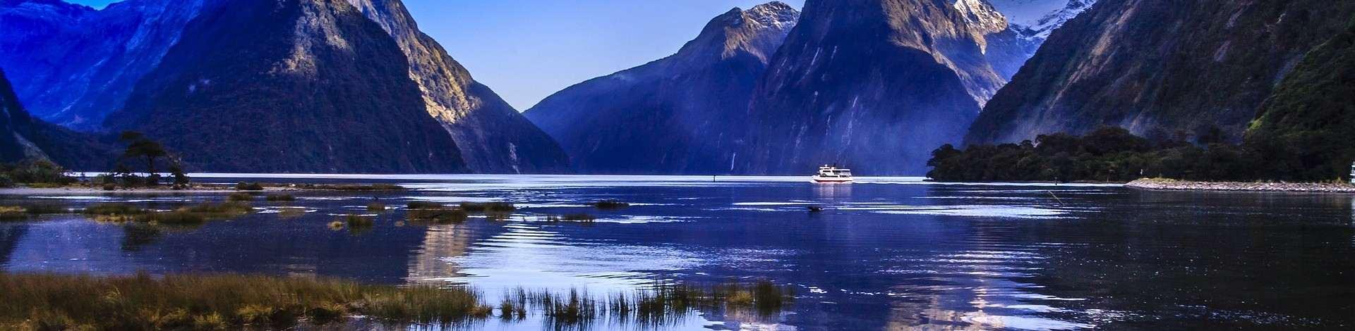 Milford Sound Nouvelle Zélande fjords croisière