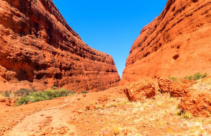 Monts Olgas Centre rouge Outback