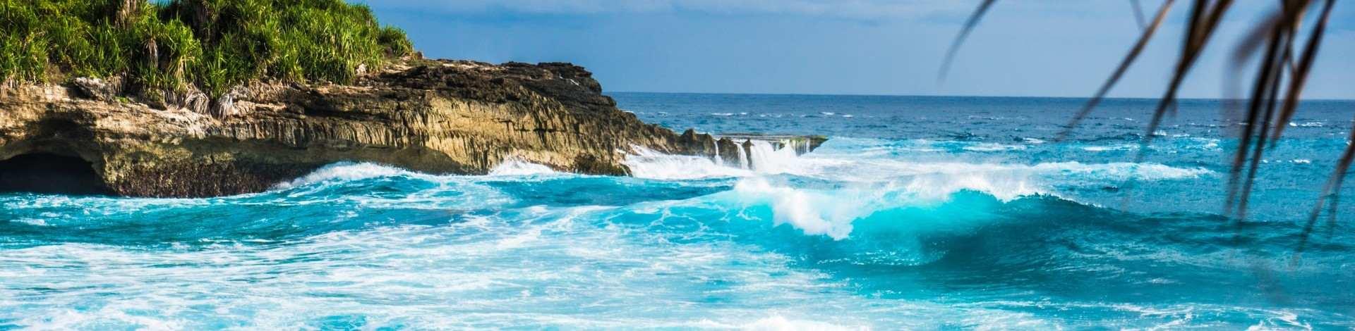 Nusa Lembongan rocher mer turquoise
