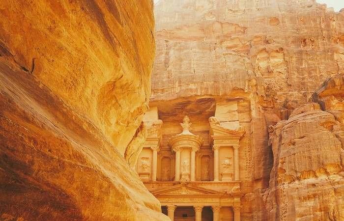 Petra Jordanie Unesco