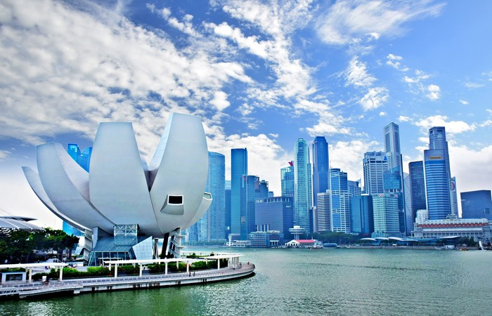 Singapore Singapour Marina Bay