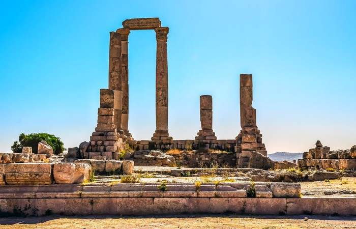 Temple Hercules Amman