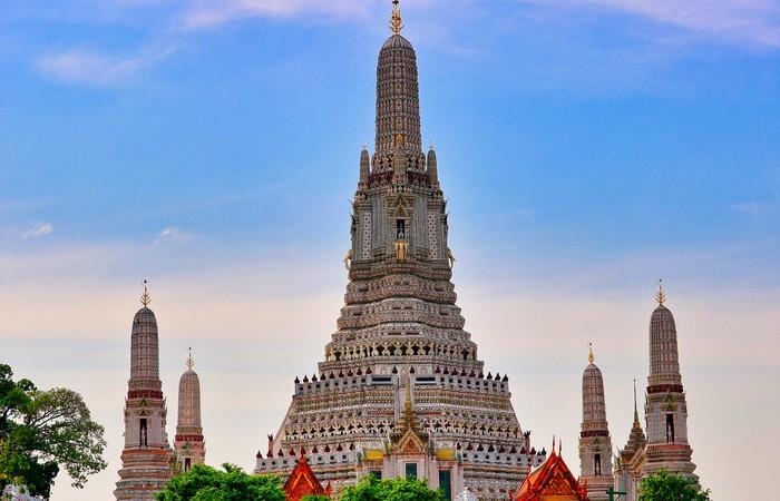 Bangkok Wat Arun Chao Phraya