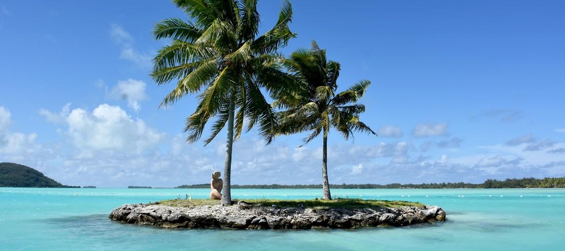 Polynésie française Tahiti Moorea Bora Bora lagon eau turquoise