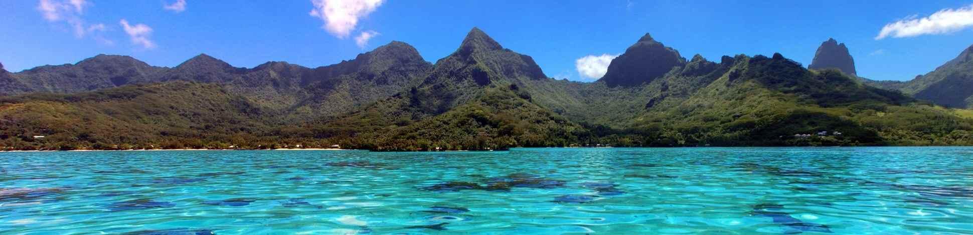 Moorea eau turquoise Polynésie Tahiti - Asie Online