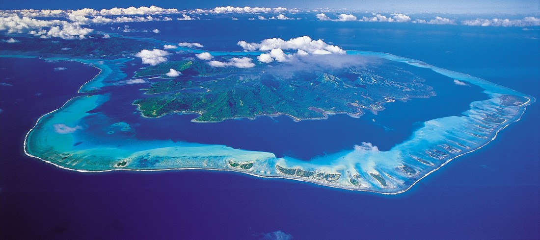 Polynésie française Tahaa Tahiti lagon eau turquoise