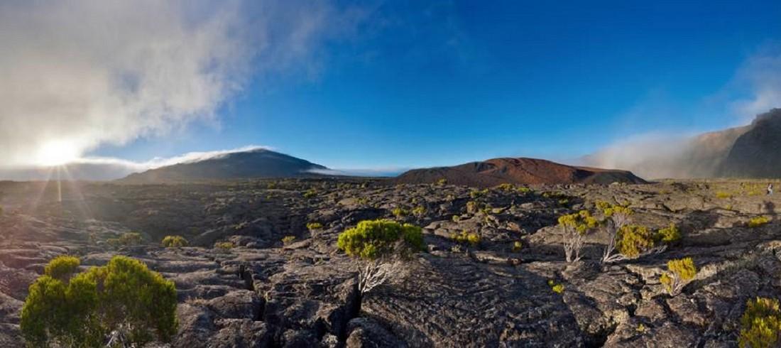 Volcan Piton Fournaise panorama