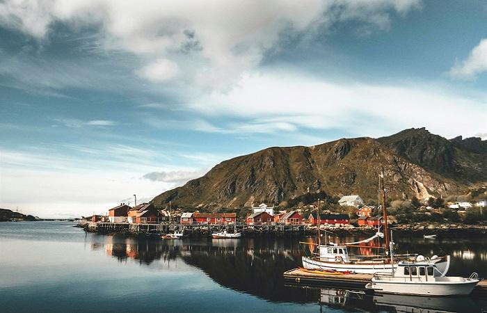 norvege eau bateaux