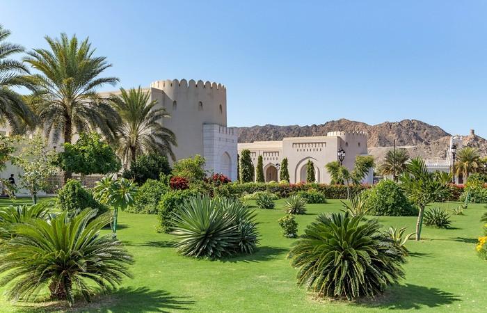 Oman palace Mascate